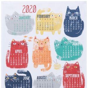 Now Designs 2020 Cat Calendar NWT